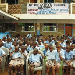 St Dorthy sch. children